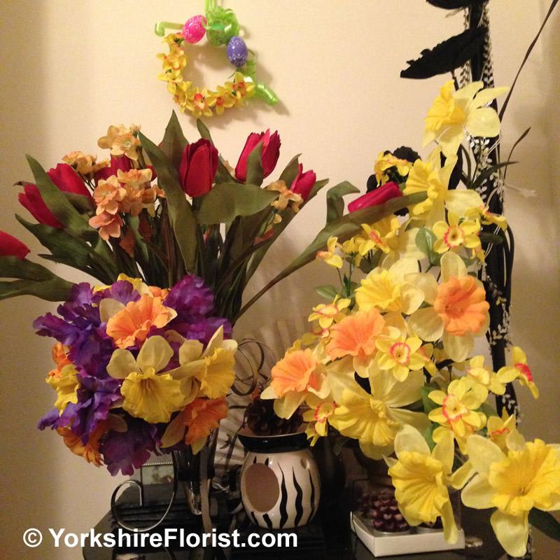 Silk flowers by yorkshire florist mightylinksfo